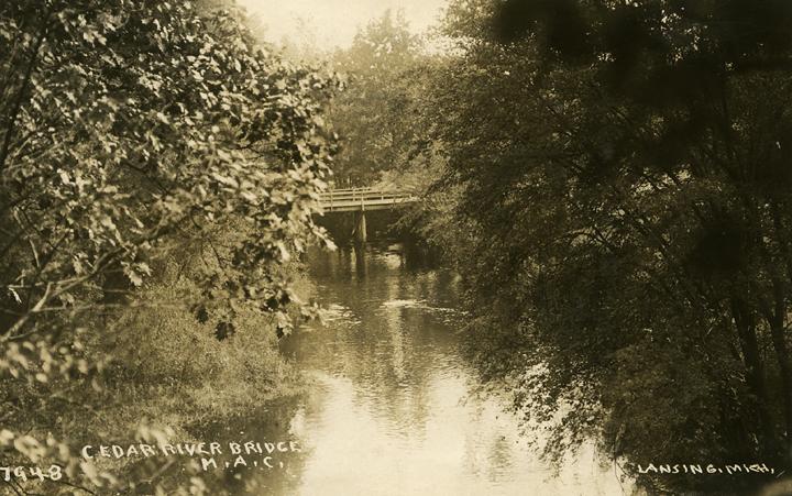 Cedar River Bridge, 1911