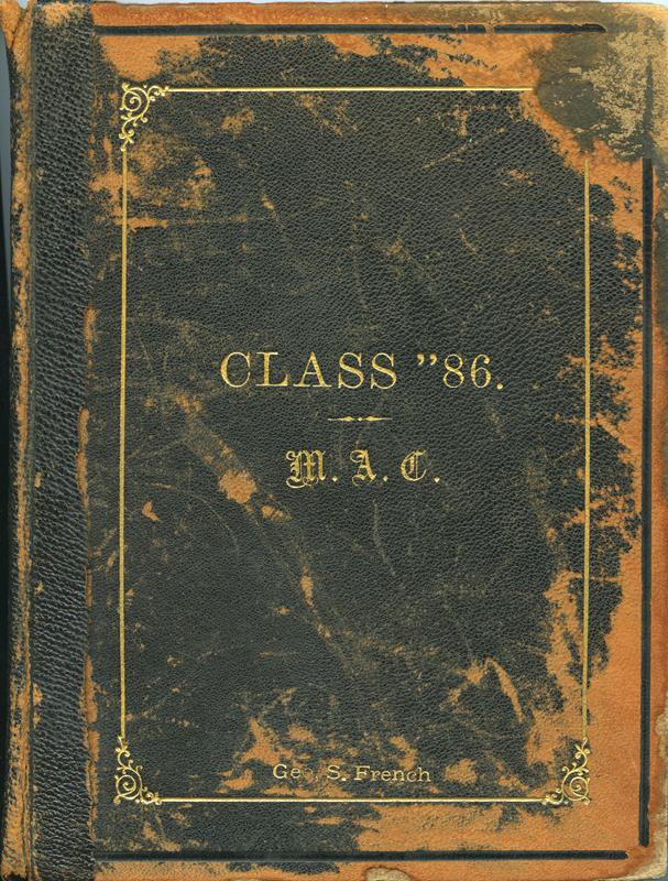 Cover Class Album, 1886