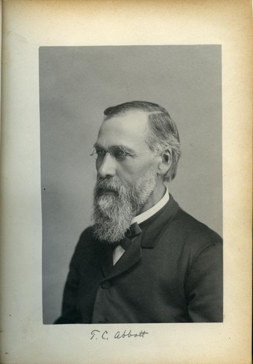 Theophilus C. Abbot, 1886