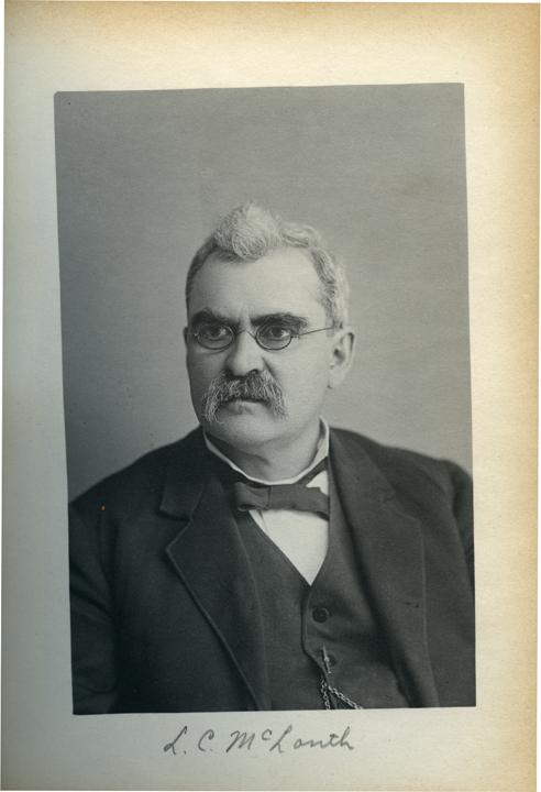 Lewis C. McLouth, 1886
