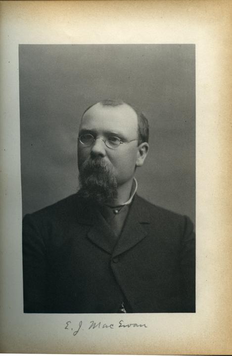 Elias J. MacEwan, 1886