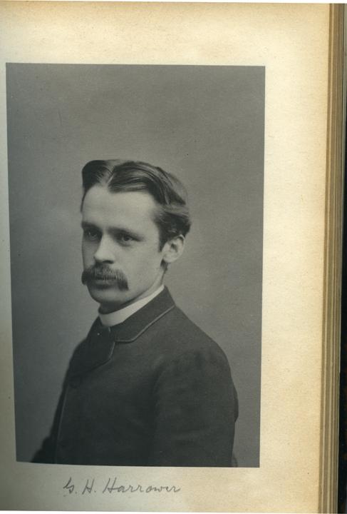 G.H. Harrower, 1886