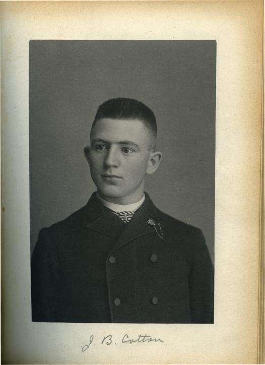 Joseph B. Cotton, 1886