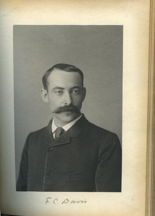 Fred C. Davis, 1886