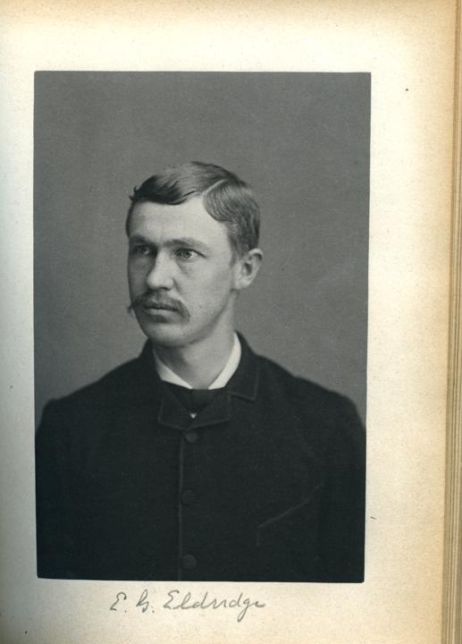 Egward G. Eldridge, 1886