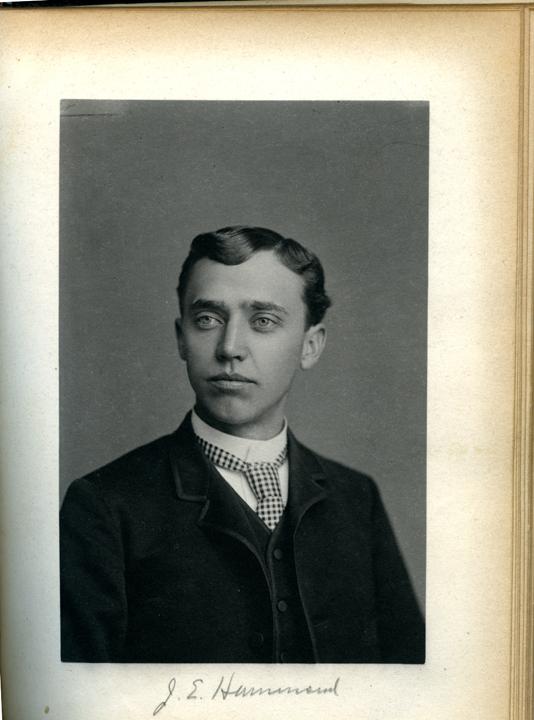 Jason E. Hammond, 1886