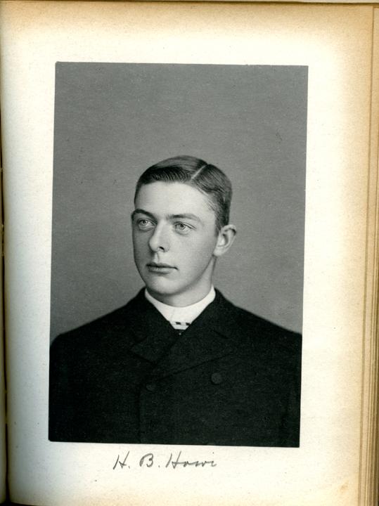 Harry B. Howe, 1886
