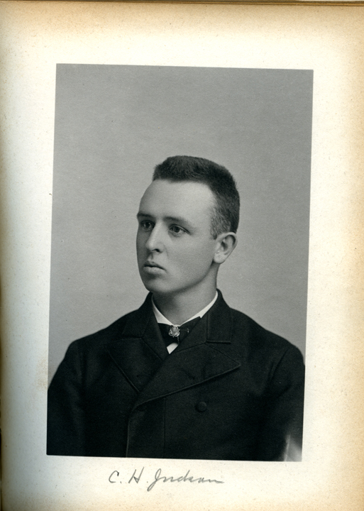 Clarence H. Judson, 1886