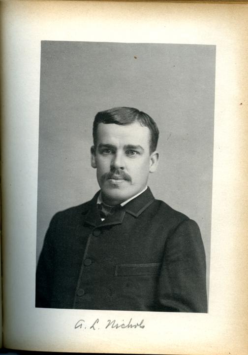 Albert L. Nichols, 1886