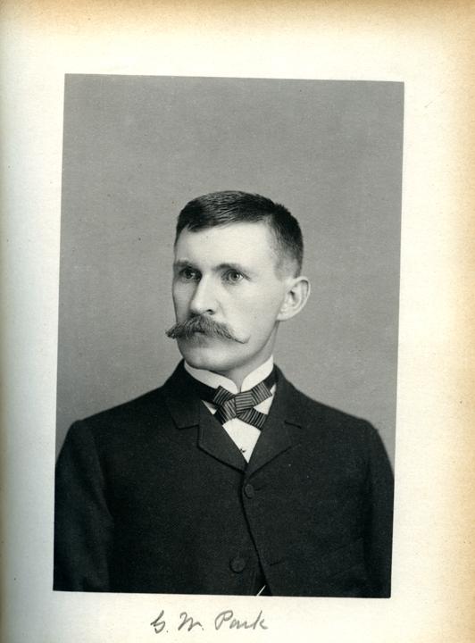 George W. Park, 1886