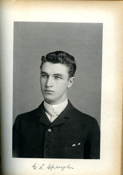 George L. Spangler, 1886