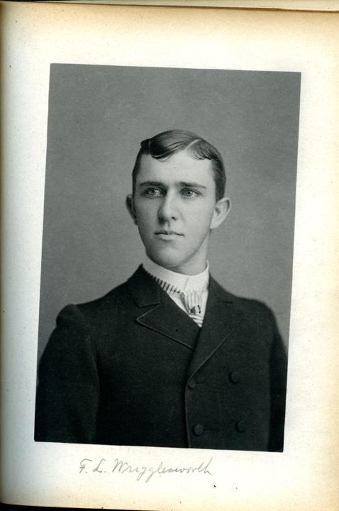 Frank L. Wriggelsworth, 1886