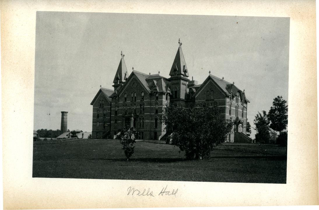 M.A.C. Wells Hall,k 1886
