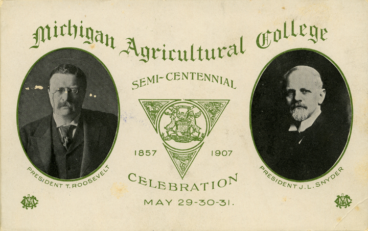 Semi-Centennial Postcard, 1907