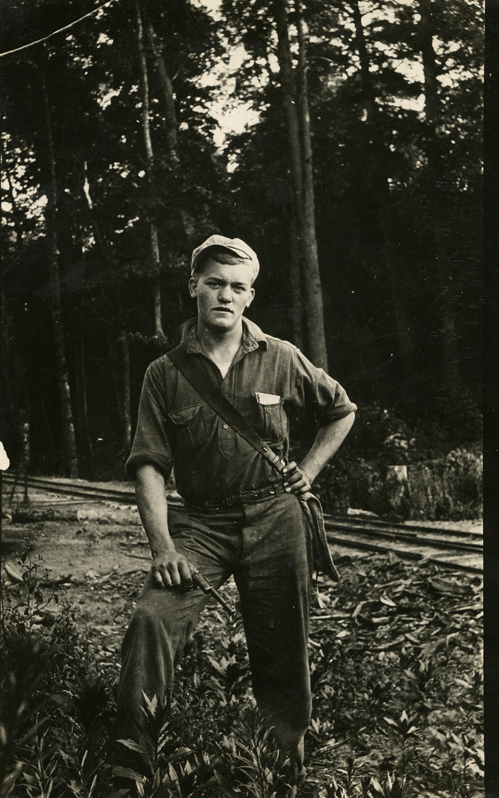 Forestry Student, date unknown