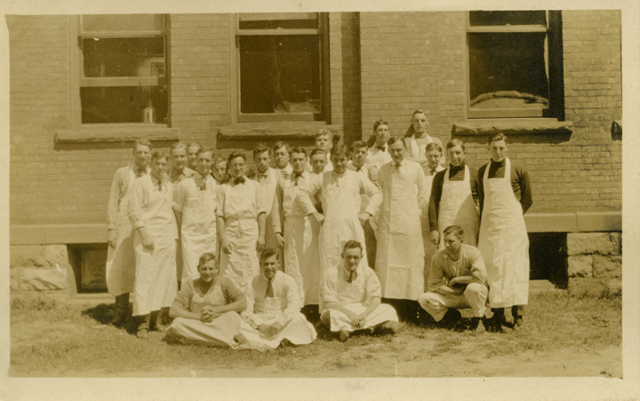Dairy Students, date unknown