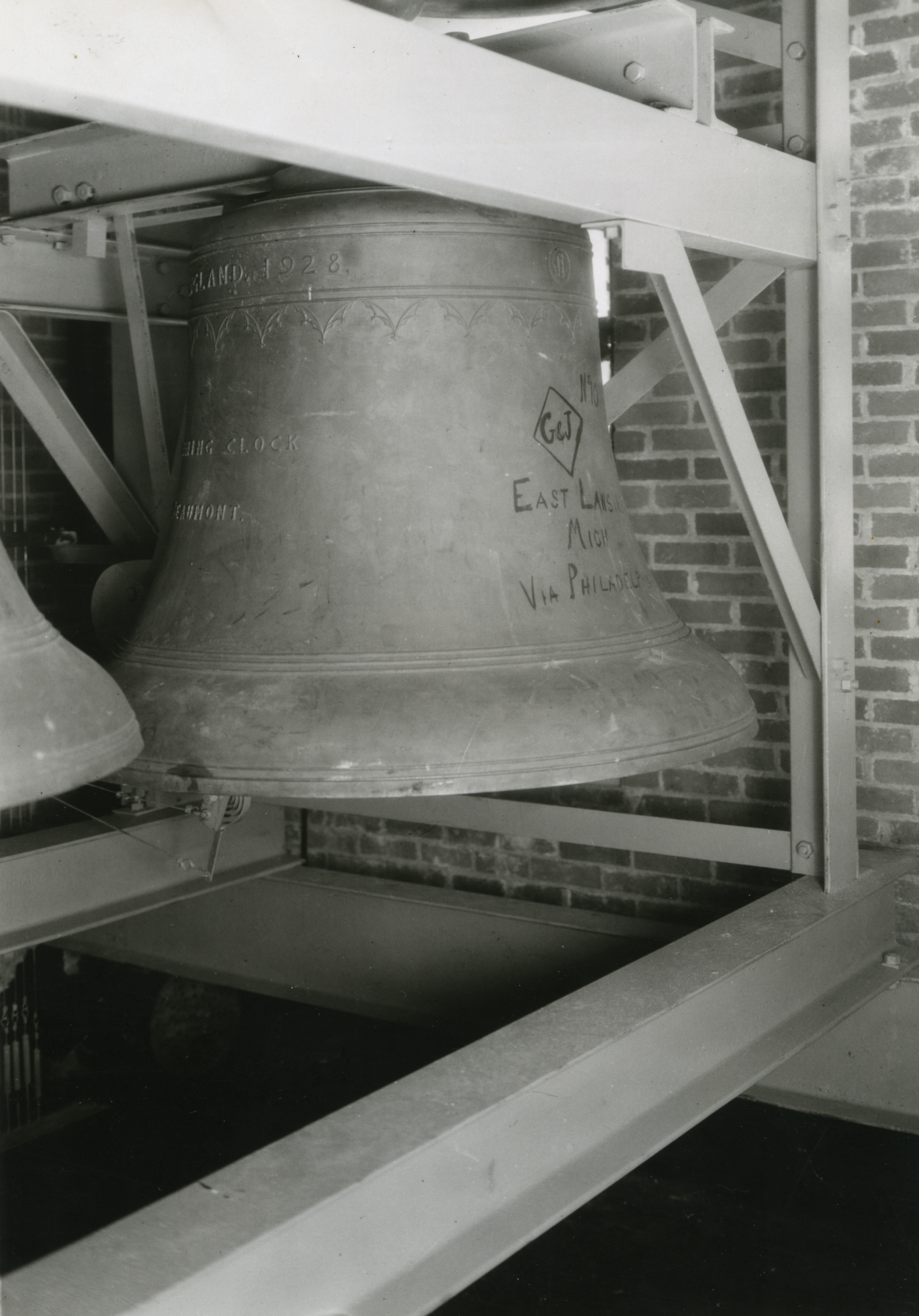 Beaumont Tower Bell, date unknown