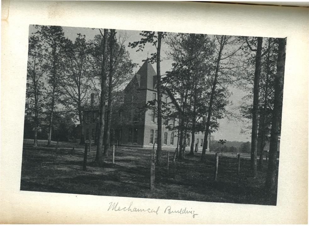 M.A.C. Mechanical Building, 1886