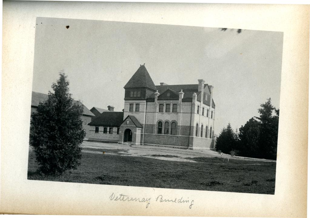 M.A.C. Veterinary Building, 1886