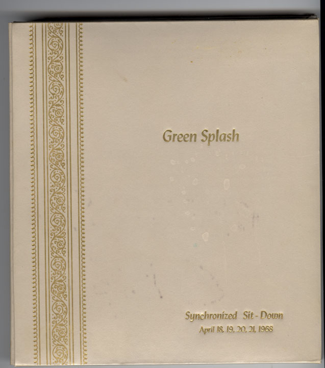 Green Splash Synchronized Sit-Down, 1968