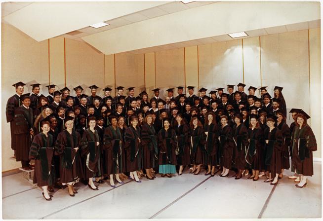 CHM graduating Class of 1991