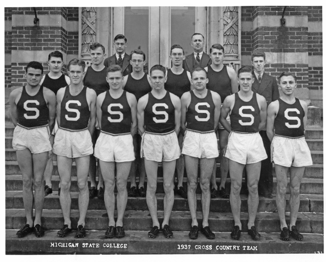 Cross-Country Track Team, 1937