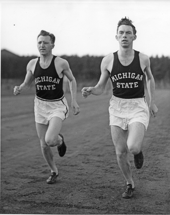 Cross-Country Athletes, ca. 1937