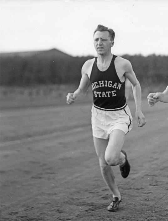 Cross-Country Athlete, ca. 1937