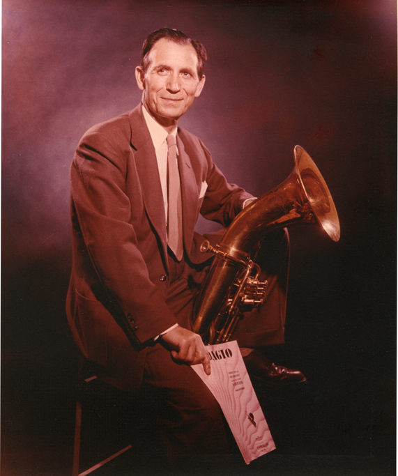 Leonard Falcone Portrait, ca. 1960s