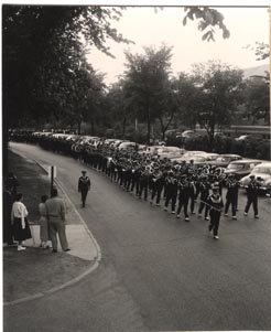 Senior Swing Out Procession, 1956