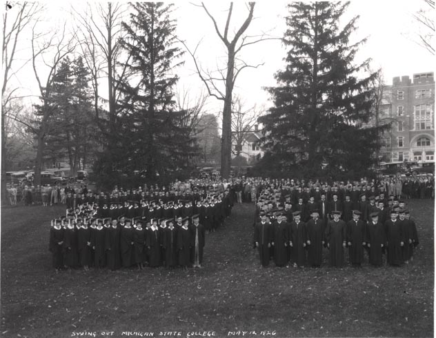 Senior Swing Out, 1926