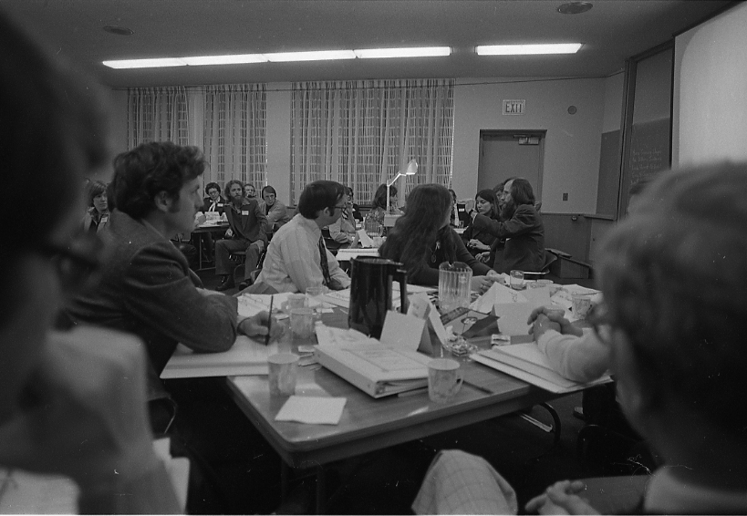 Conference at the Kellogg Center, 1978