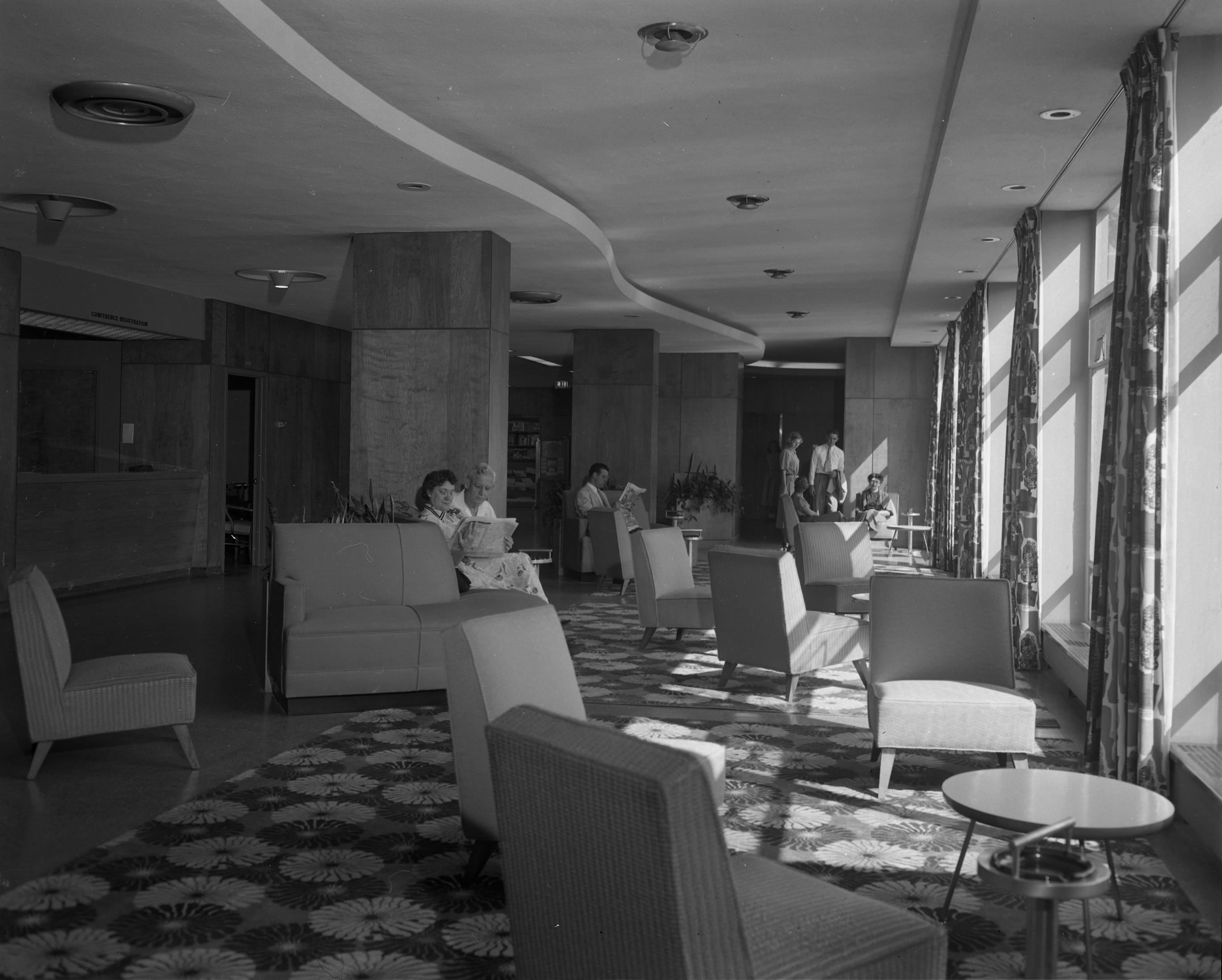 Kellogg Center Lobby, 1952