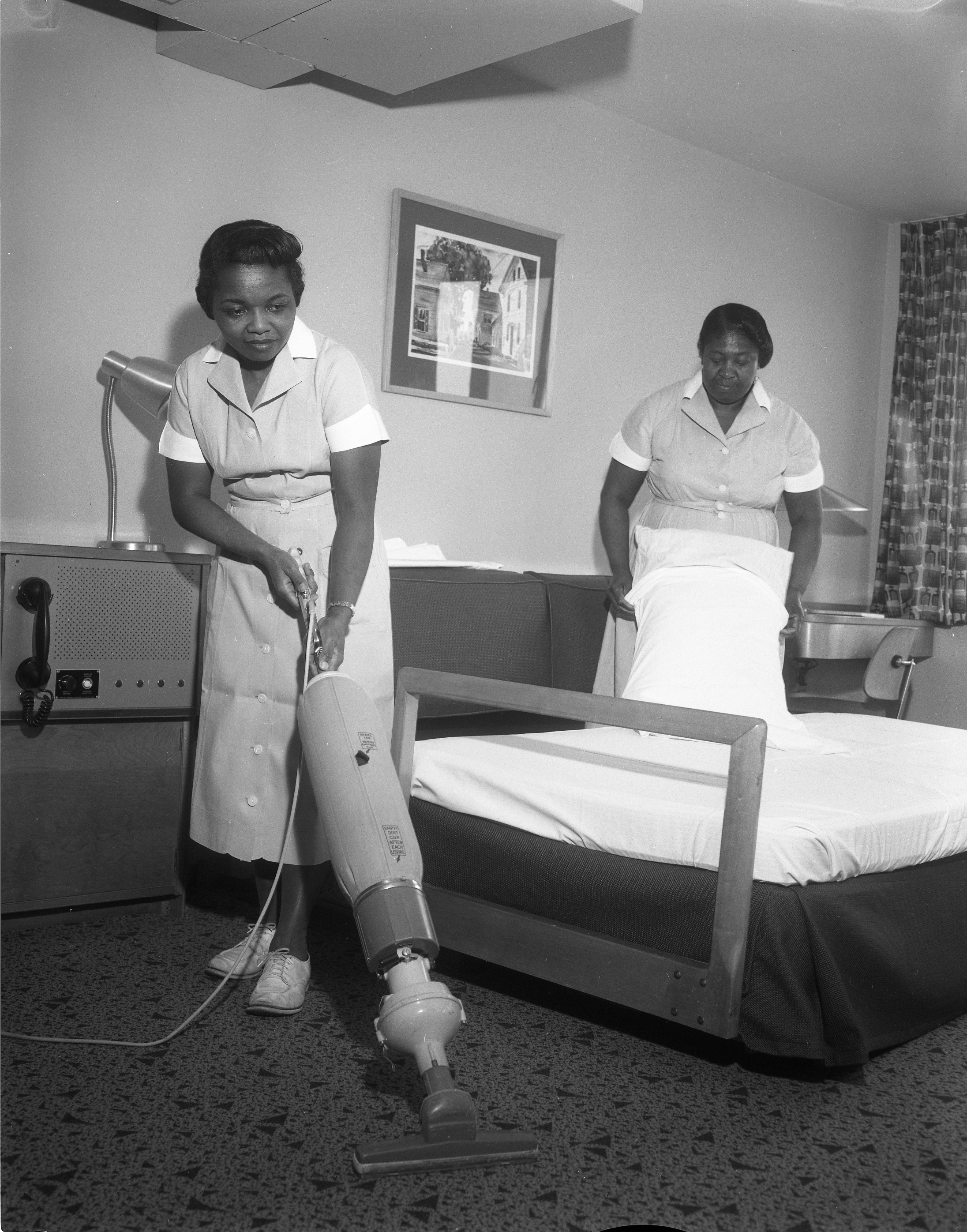 Housekeepers at the Kellogg Center, 1959