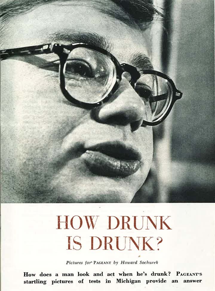 """""""How Drunk is Drunk?"""" pamphlet, undated"""
