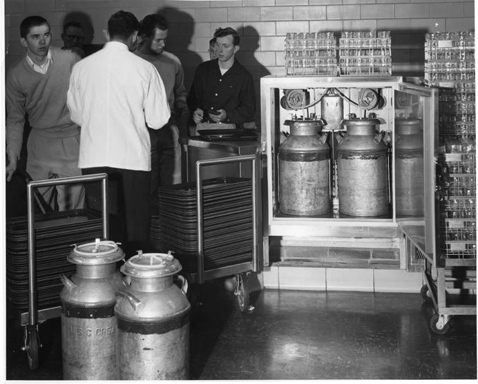 Brody Kitchen Creamery Jars, 1954