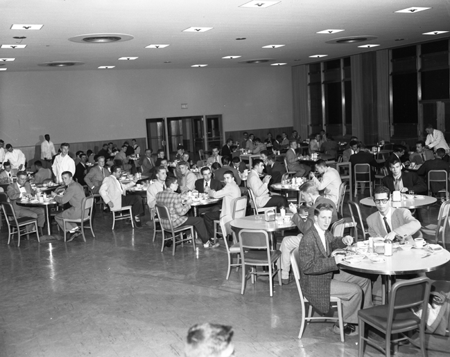 Brody Hall Cafeteria, 1954