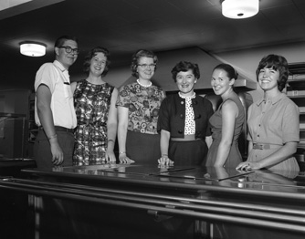 Food Service Trainees, 1962