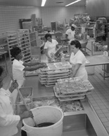 Baking in the MSU kitchens, 1966