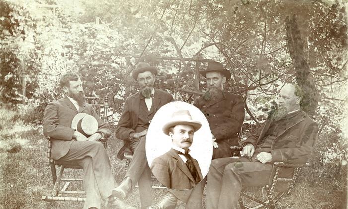Class of 1862 Reunion, 1893
