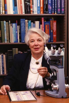 Margaret Zee Jones poses for Michigan State M.D., 1994