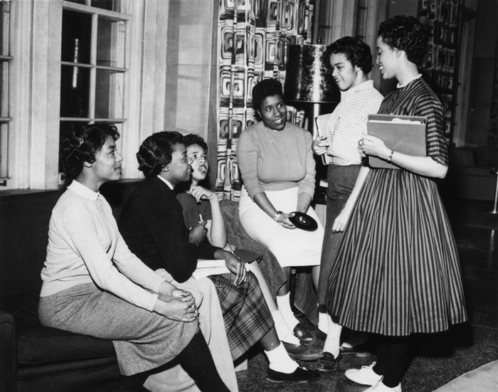 Alpha Kappa Alpha social, circa 1958
