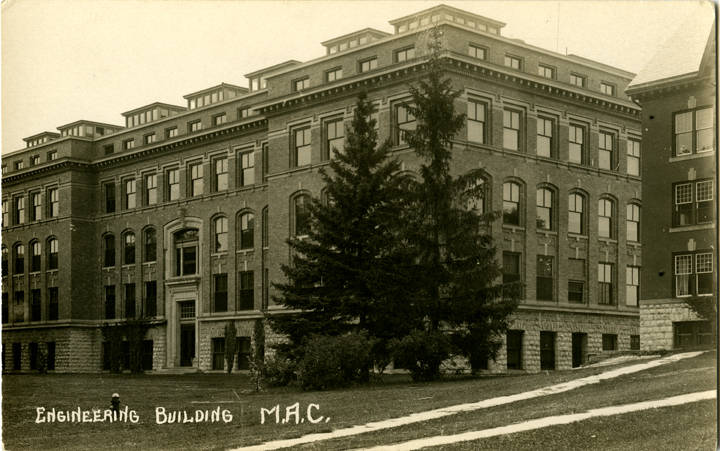 Engineering Building, M.A.C., undated