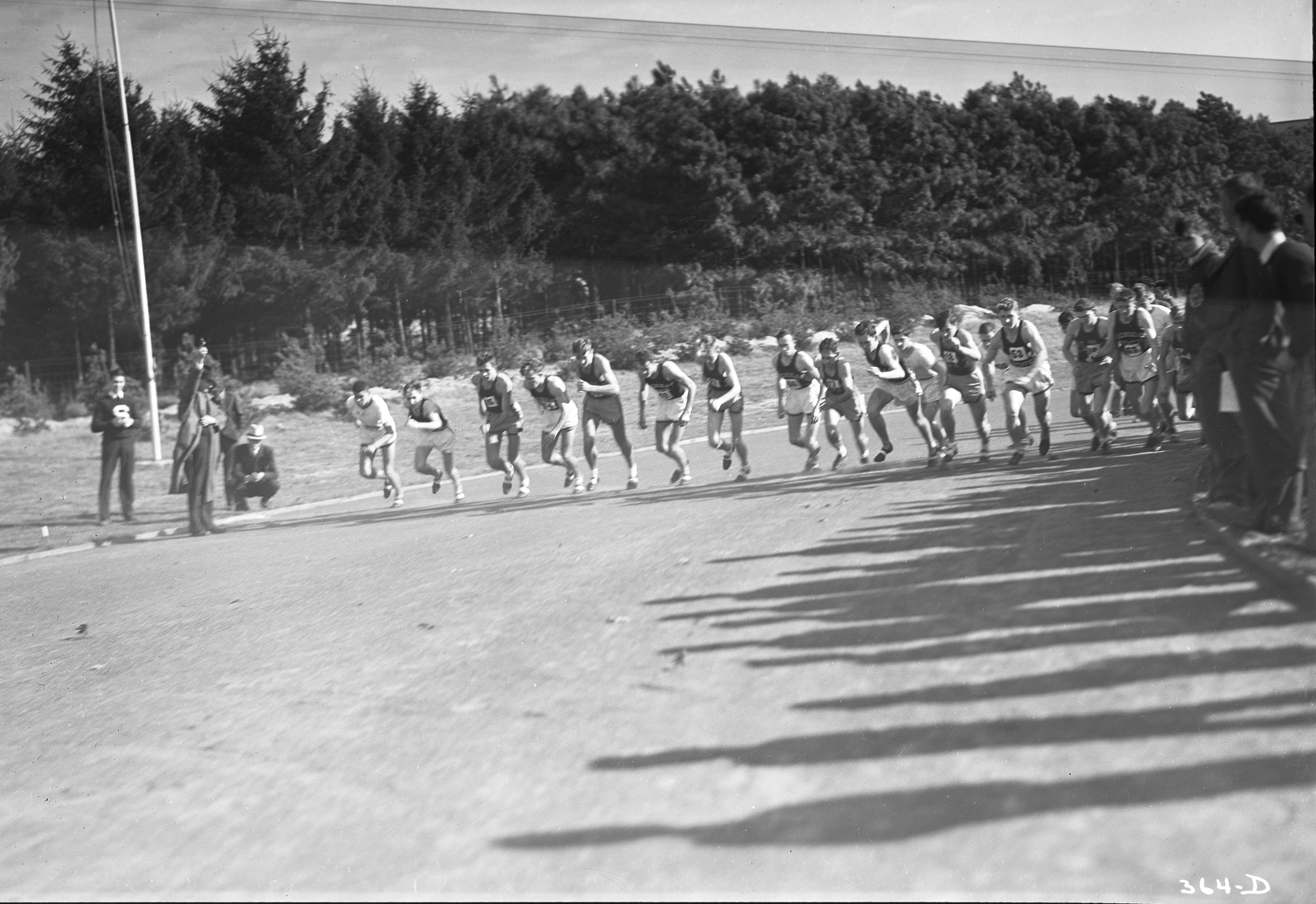 MSC Cross Country Team, 1938