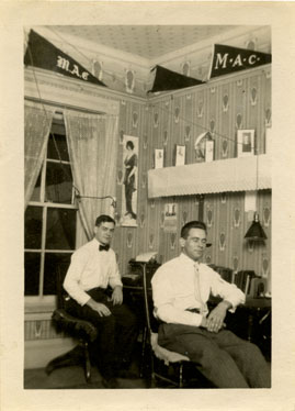 Male Dorm Room, 1914