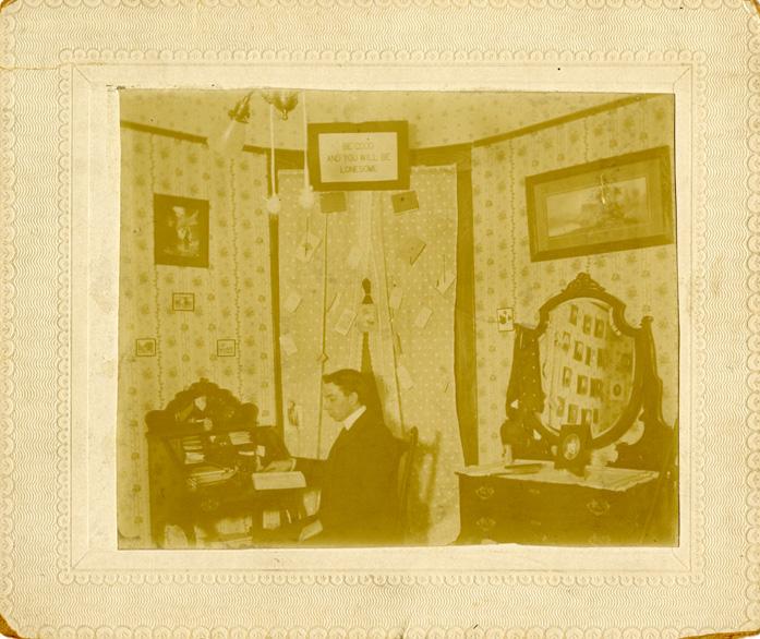 Male Dormitory, Ca. 1901