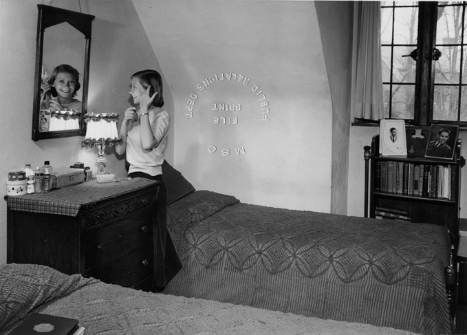 Female Dorm Room, 1950