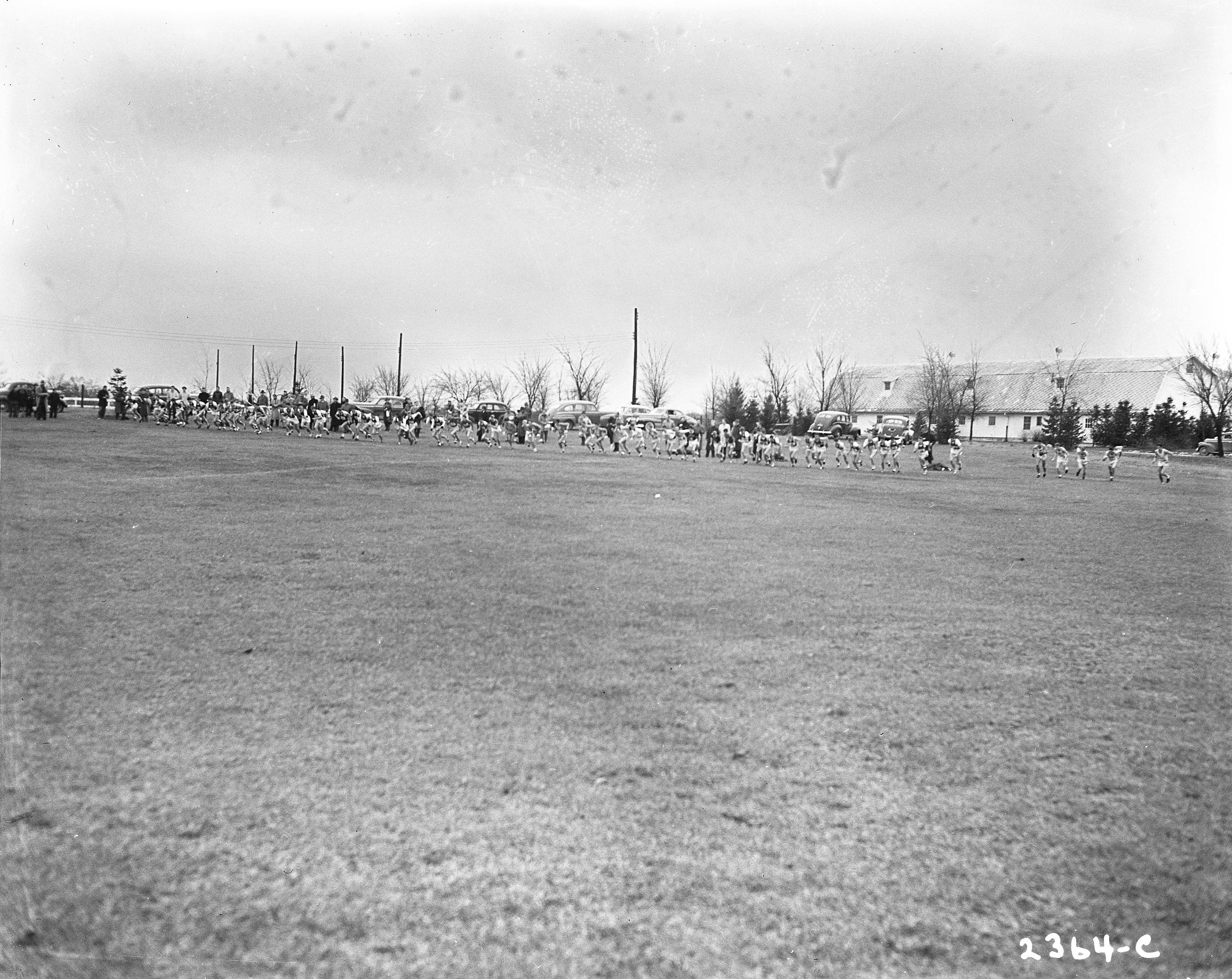 Cross Country meet, circa 1950s