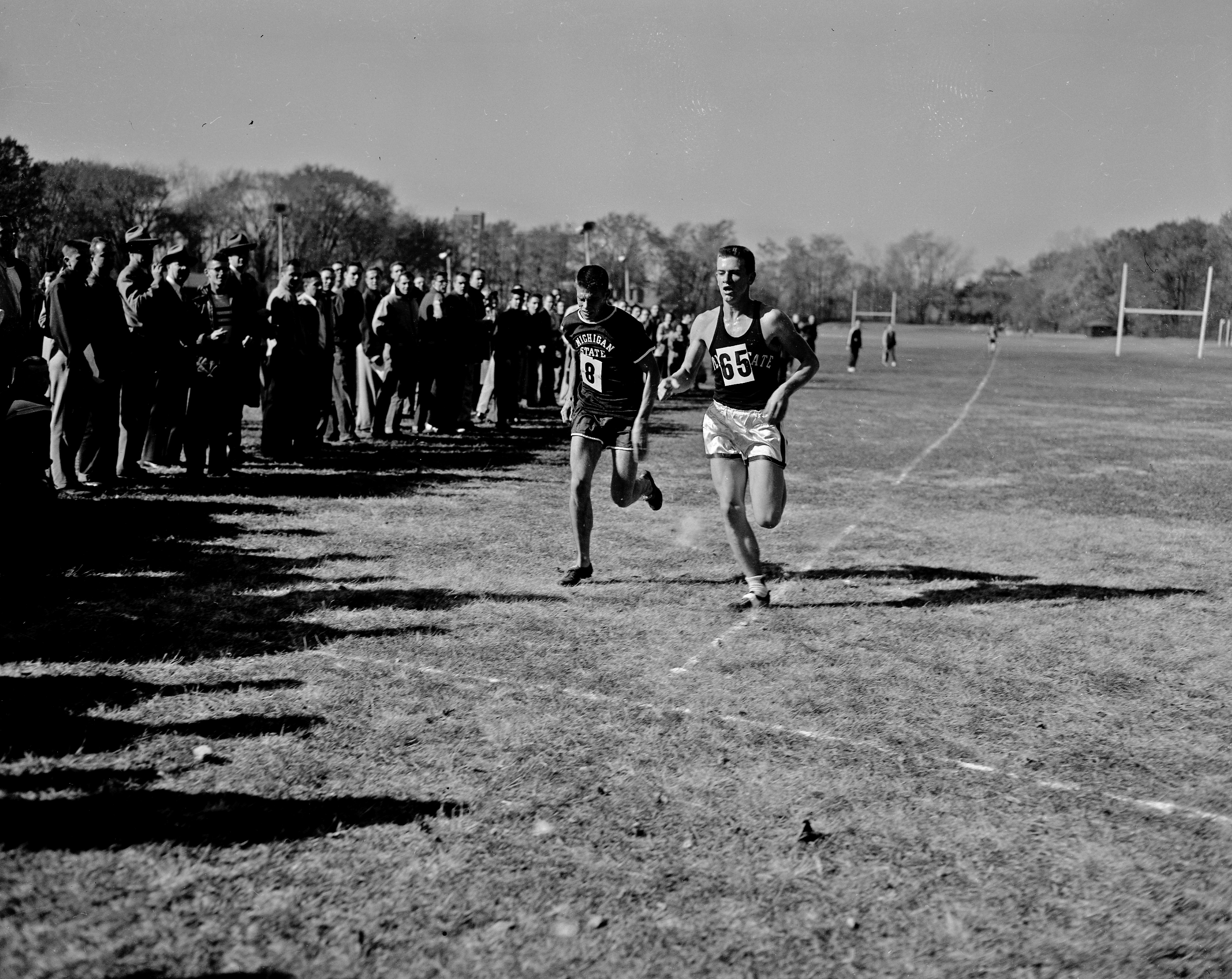 Cross Country Track Meet with Penn State, 1952