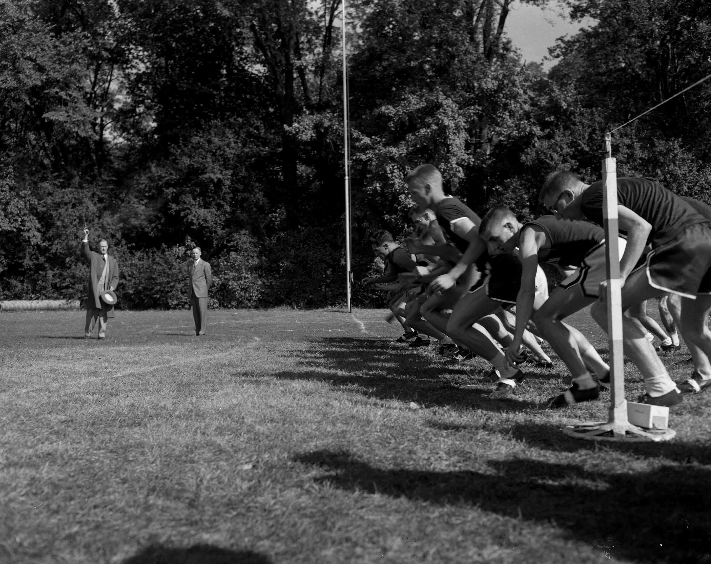 Cross Country Track Meet, 1952